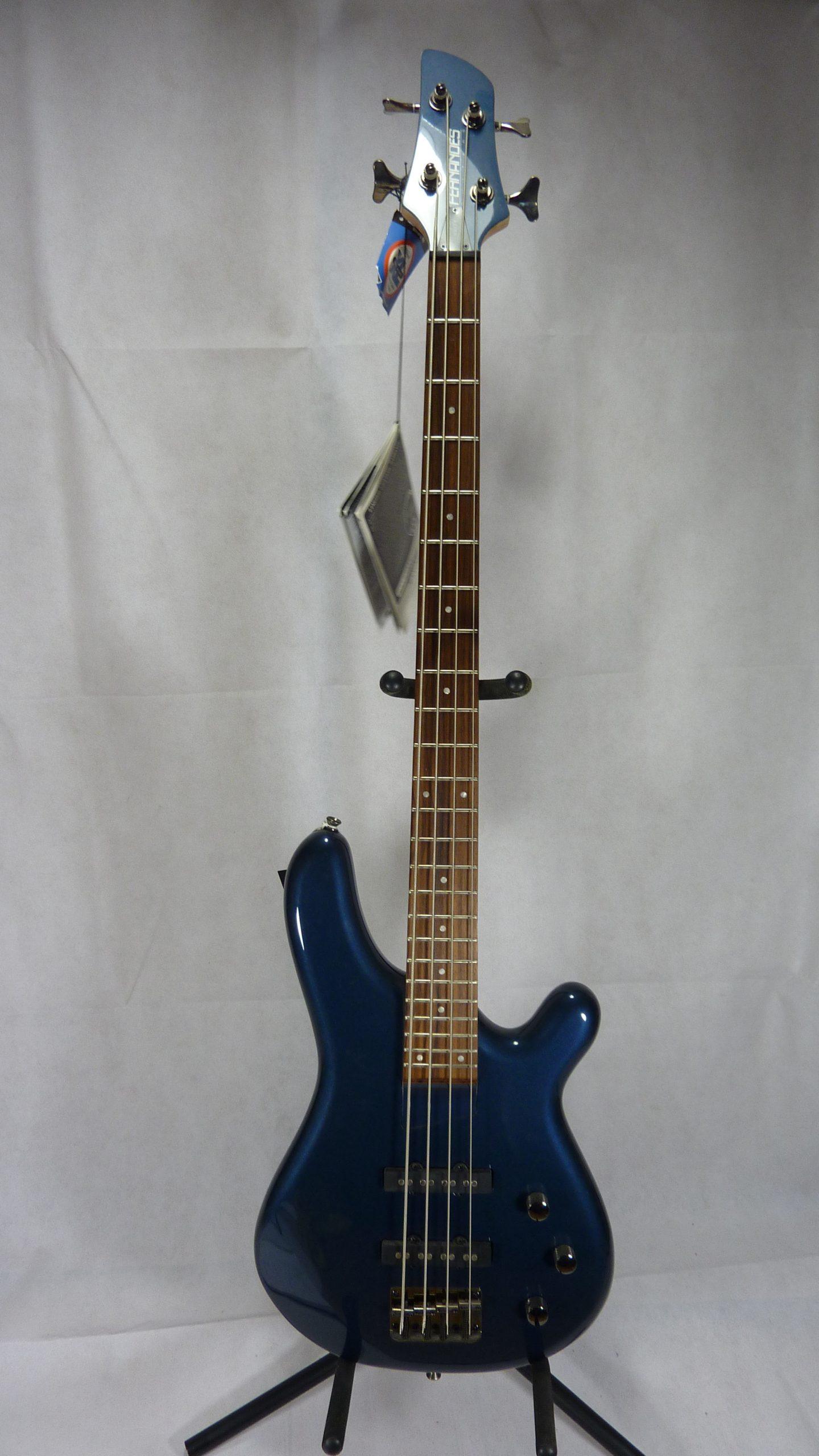 Fernandes Gravity bass metallic blue