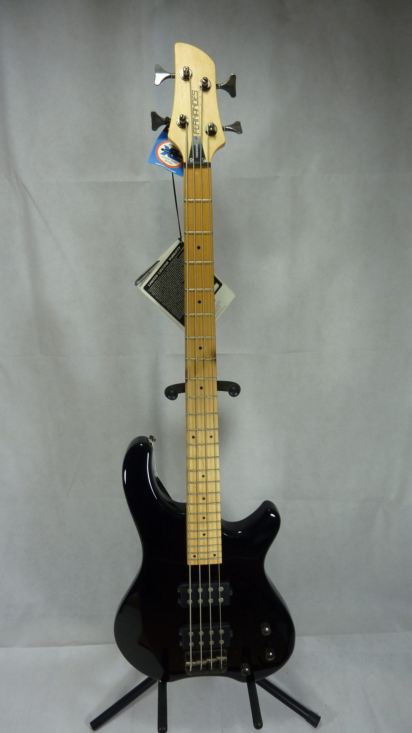 Fernandes Tremor 4X Bass black